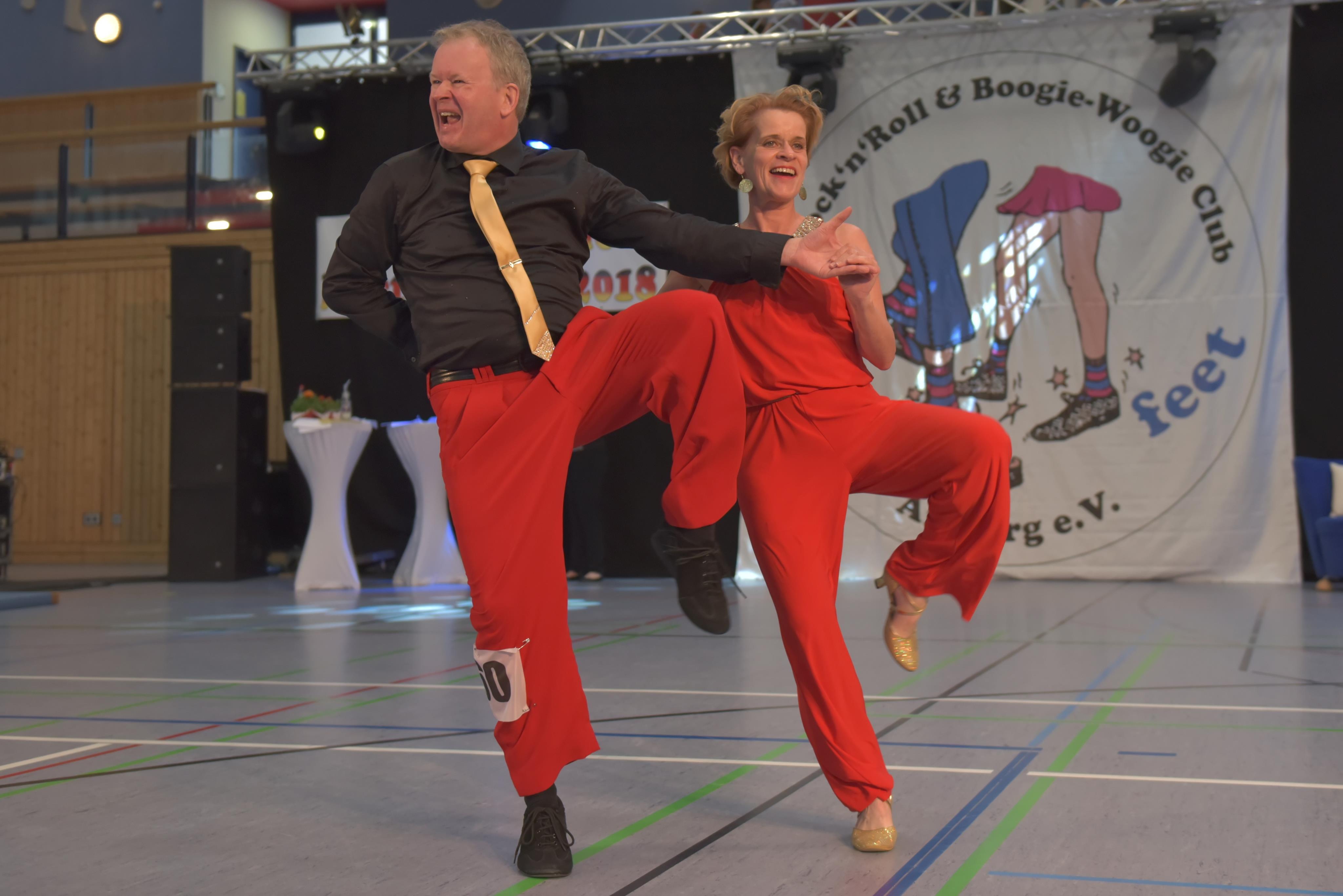 Gisela und Jörg in Aktion